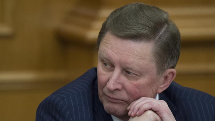 إيفانوف: واشنطن تستعمل أوكرانيا كمطرقة لدق إسفين بين روسيا والاتحاد الأوروبي