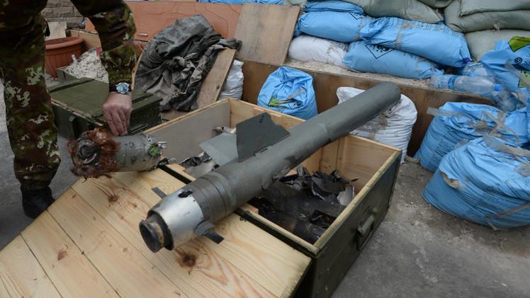 لوغانسك تتهم كييف باستخدام القذائف العنقودية والفوسفورية