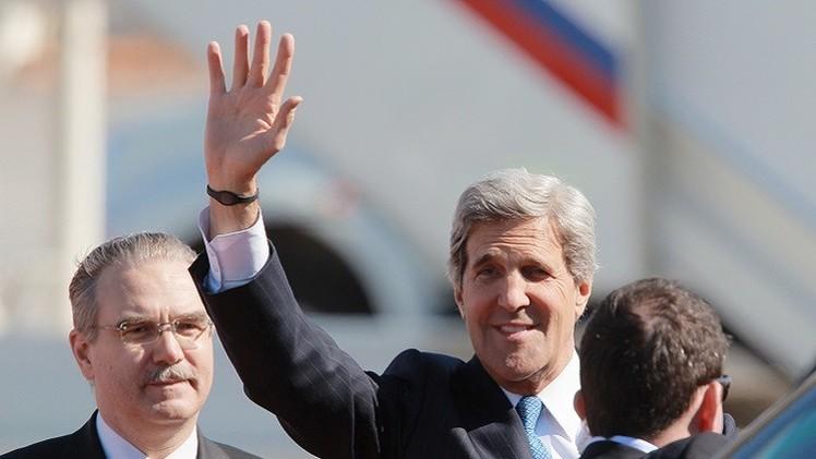 دبلوماسي روسي: زيارة كيري إلى موسكو قيد البحث