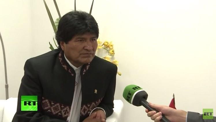 رئيس بوليفيا يصف قناة