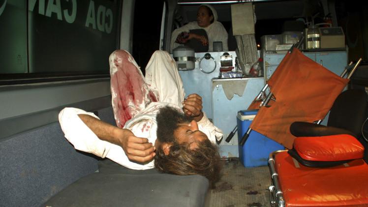 ارتفاع عدد قتلى انفجار حسينية في باكستان إلى 61 قتيلا