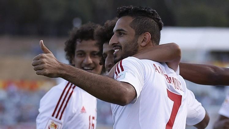الإماراتي مبخوت يتوج بجائزة هداف كأس آسيا 2015