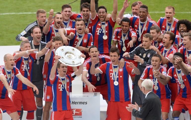 بالصور .. أبطال أبرز الدوريات الأوروبية لكرة القدم في عام 2014