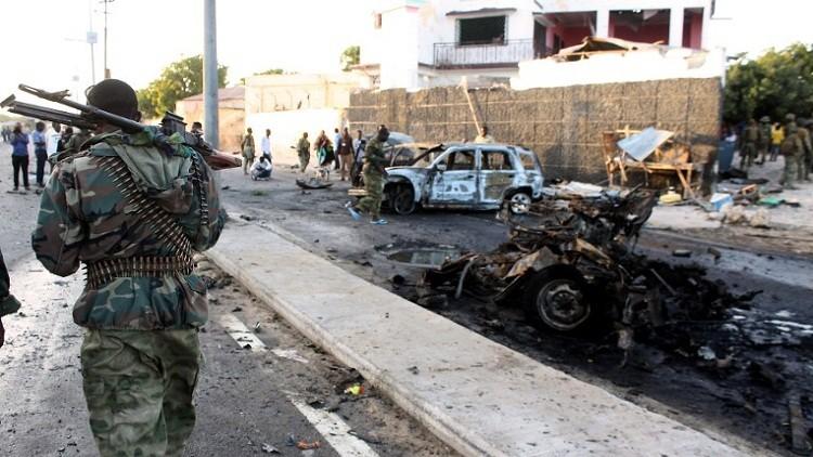 5 قتلى بانفجار سيارة مفخخة في الصومال