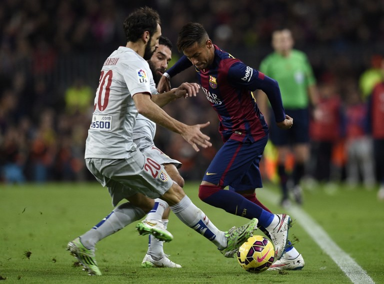 برشلونة ينجز المهمة ويتخطى أتلتيكو مدريد 3-1