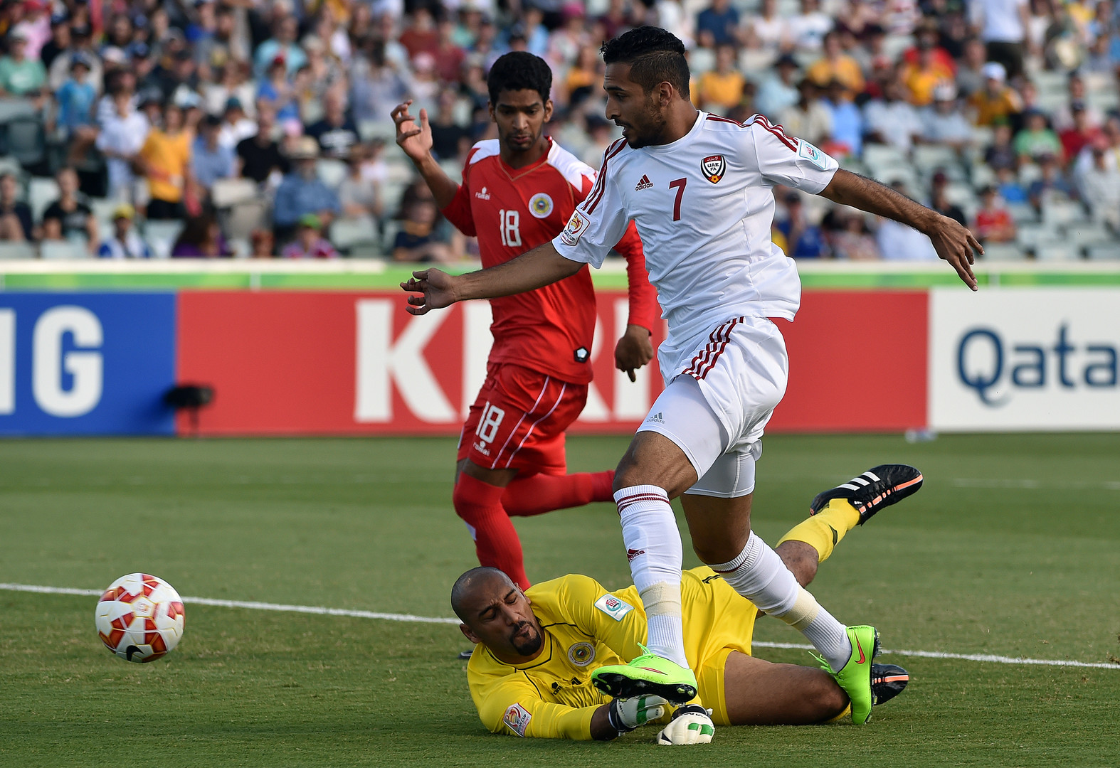 الأبيض الإماراتي أول منتخب عربي يبلغ ربع نهائي كأس آسيا