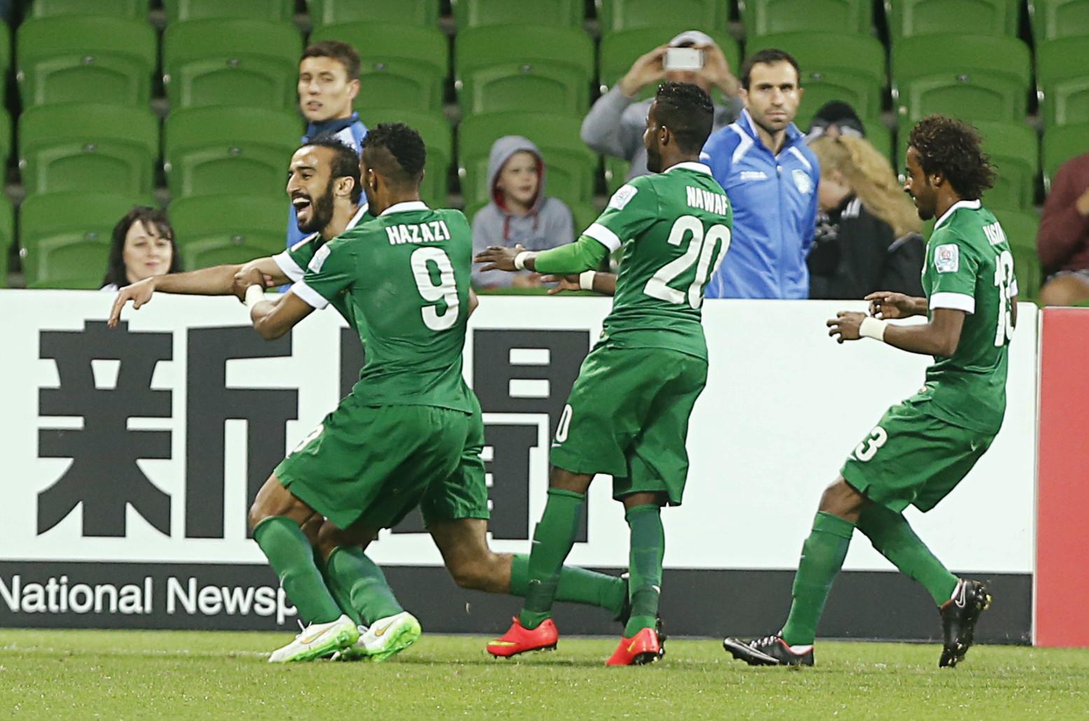 الأخضر السعودي يخرج بخفي حنين من كأس آسيا
