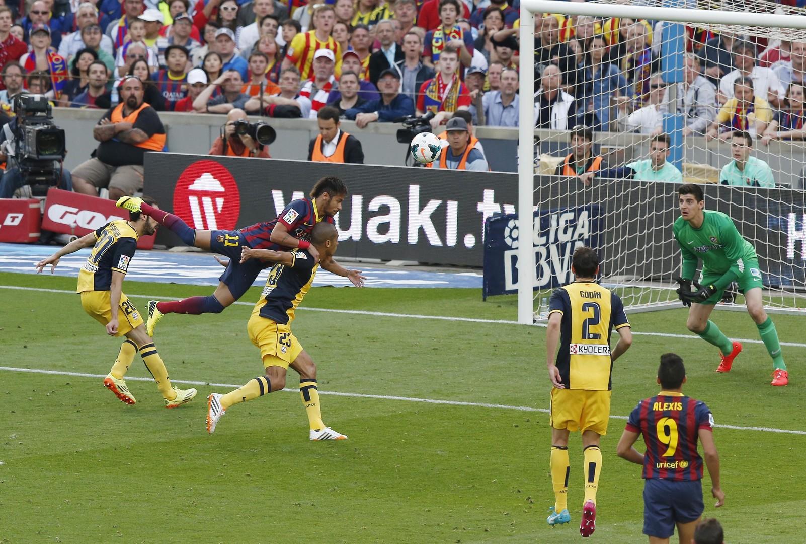 برشلونة وأتلتيكو مدريد في