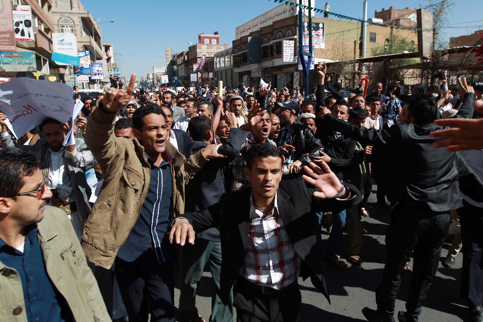 قتلى وجرحى من الحوثيين في رداع ومظاهرات ضدهم في عدة محافظات يمنية