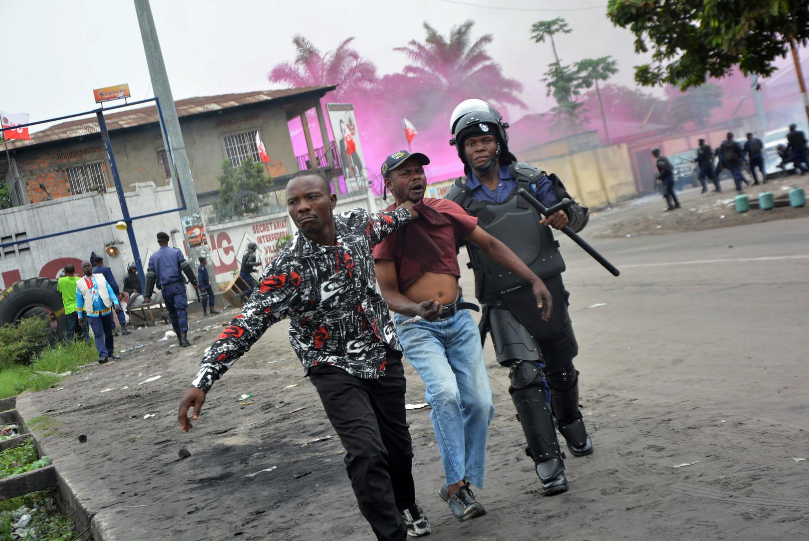 هيومن رايتس: 40 قتيلا في تظاهرات الكونغو