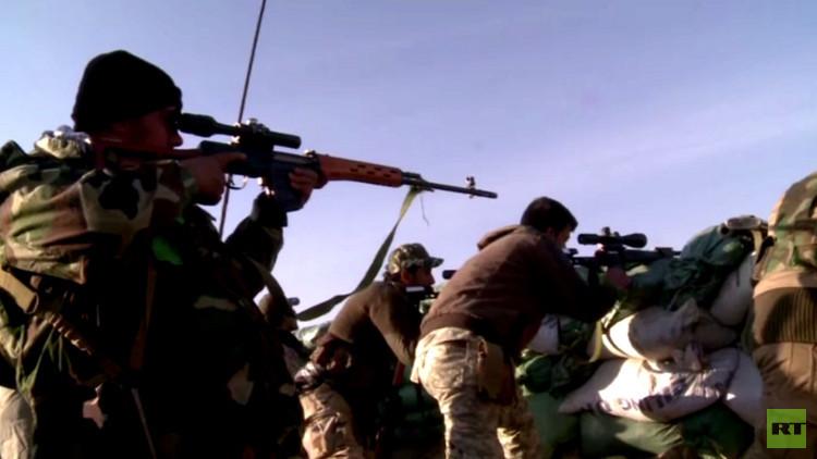 كاميرا RT ترصد معارك القوات العراقية مع مقاتلي داعش في ديالى