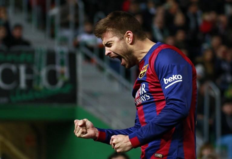 برشلونة يسحق إلتشي ويواصل مطاردته للريال على الصدارة