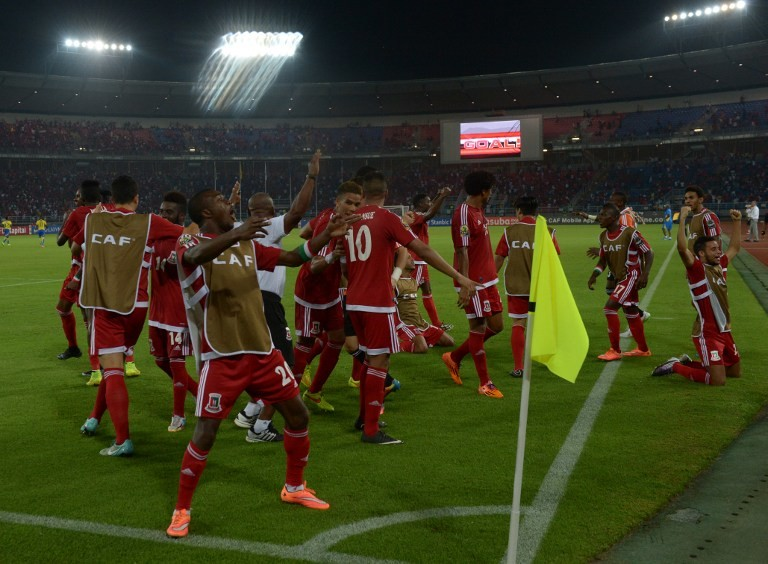 غينيا الاستوائية والغابون إلى ربع نهائي كأس إفريقيا