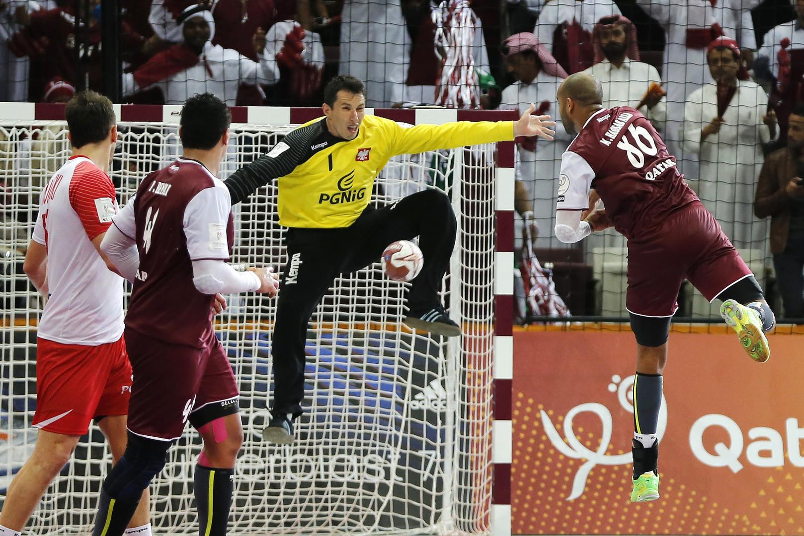العنابي القطري أول منتخب عربي يبلغ نهائي كأس العالم لكرة اليد في التاريخ