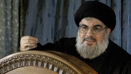 حسن نصرالله خلال خطاب سابق