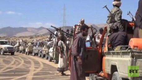 مسلحون تابعون لجماعة الحوثي