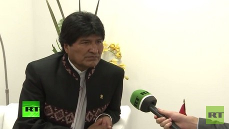 مقابلة خاصة مع الرئيس البوليفي ايفو موراليس