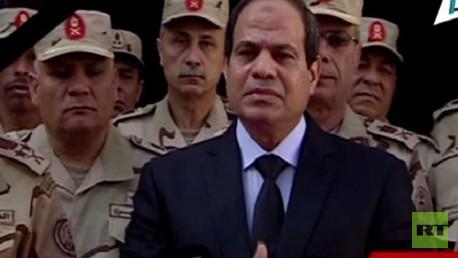 كلمة الرئيس المصري عبد الفتاح السيسي