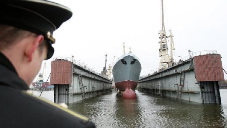 بالفيديو.. 3 فرقاطات حديثة تنضم قريبا إلى البحرية الروسية