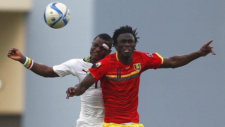 غانا تبلغ المربع الذهبي لكأس إفريقيا على حساب  غينيا