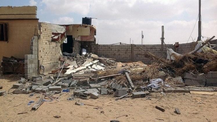 مقتل وإصابة 6 أشخاص بسقوط قذيفة شمال سيناء