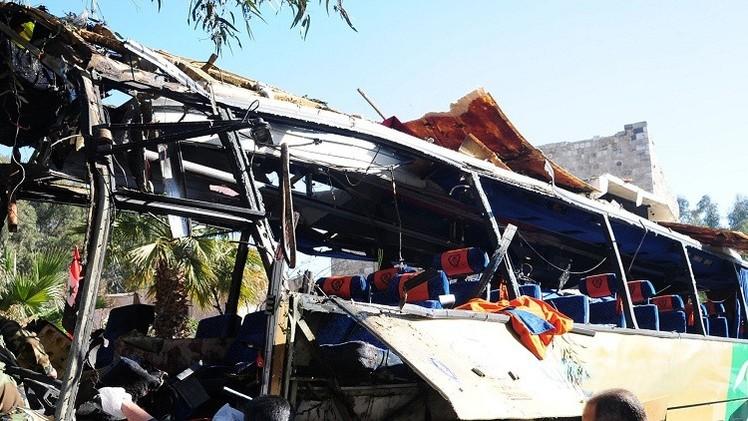 لبنان يدين العملية الانتحارية بدمشق ومقتل 6 من رعاياه