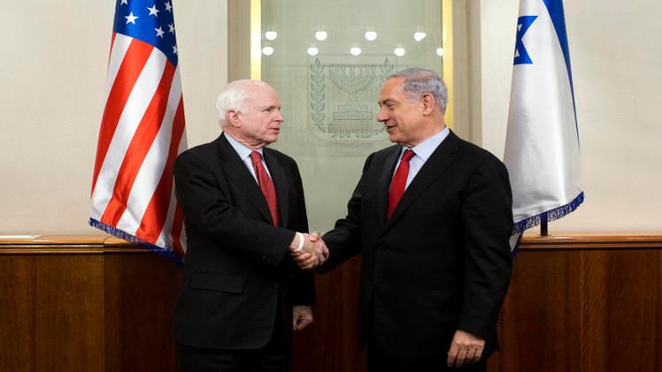 ماكين: علاقاتنا مع إسرائيل في عهد أوباما هي الأسوأ