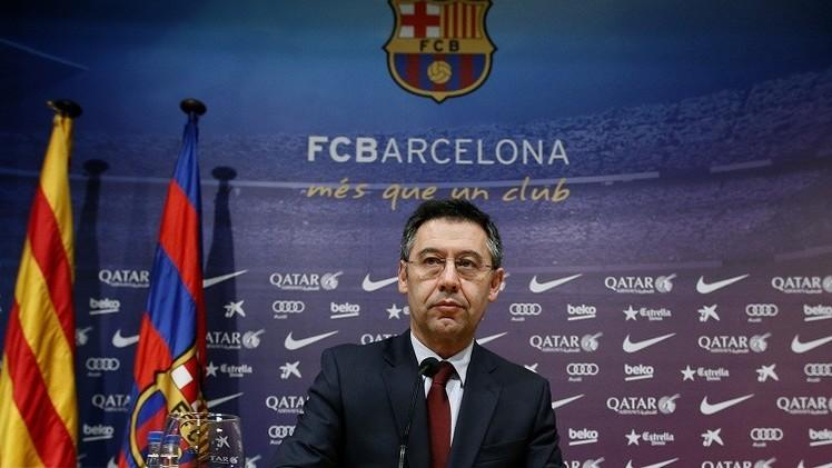 اتهام رئيس برشلونة الحالي بالاحتيال في صفقة ضم نيمار
