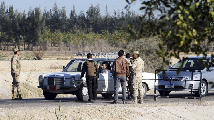 مقتل 8 مسلحين وجرح 10 في عملية أمنية بسيناء