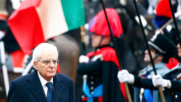ماتاريلا يؤدي اليمين الدستورية رئيسا لإيطاليا
