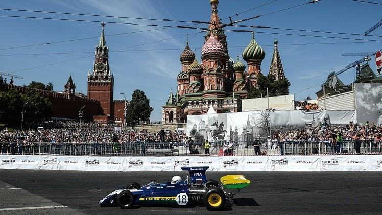 موسكو تستضيف سباق الفورمولا -E بالقرب من الكرملين