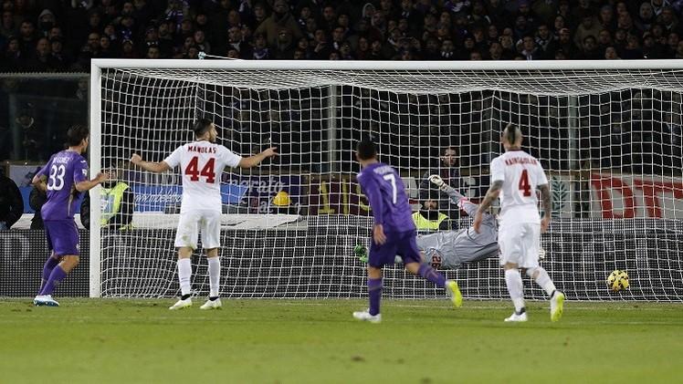 غوميز يطيح بذئاب روما من ربع نهائي كأس إيطاليا