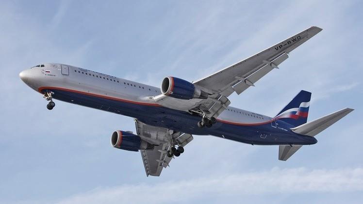 الطيران المدني الروسي يحظر استخدام الأجواء الليبية