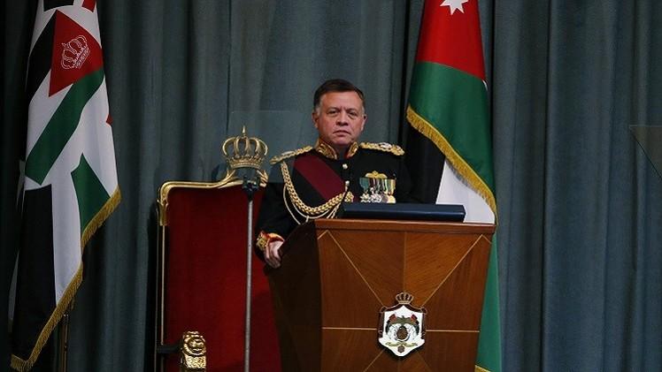 العاهل الأردني يتوعد