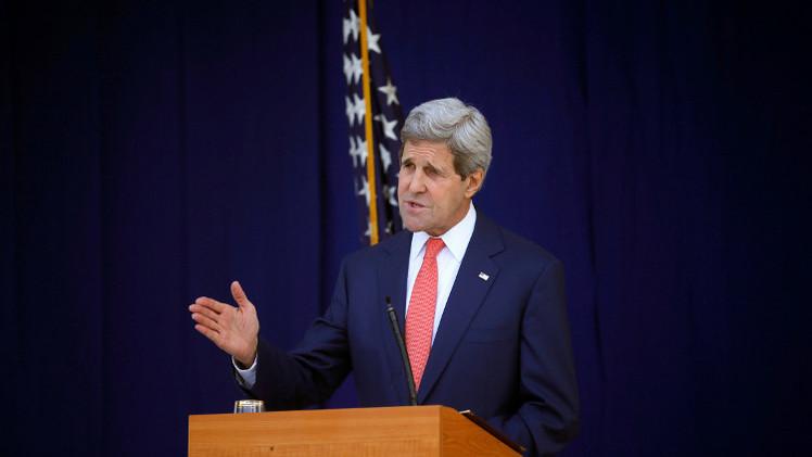 كيري: واشنطن تسعى إلى حل دبلوماسي في أوكرانيا لا إلى الصراع مع روسيا