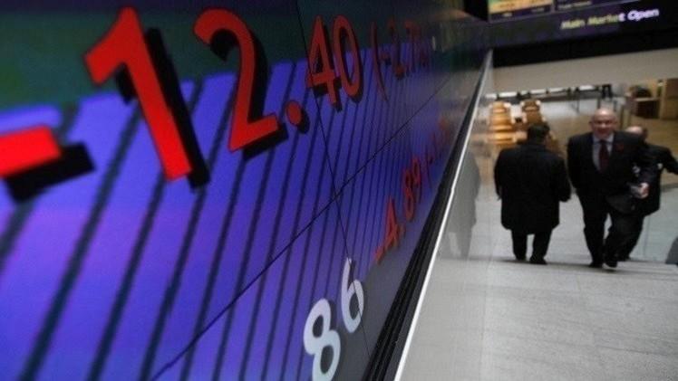المؤشرات الأوروبية تتراجع بعد قرار المركز الأوروبي حول سندات اليونان