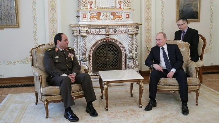 بوتين إلى مصر لبحث محاربة