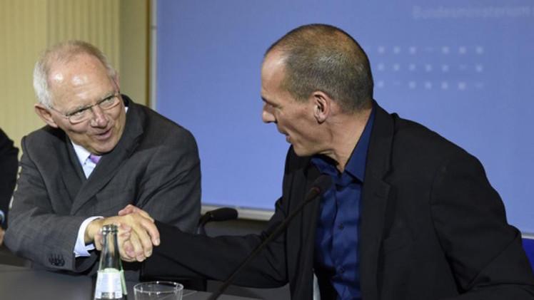 برلين وأثينا.. لا نتائج بخصوص أزمة الديون