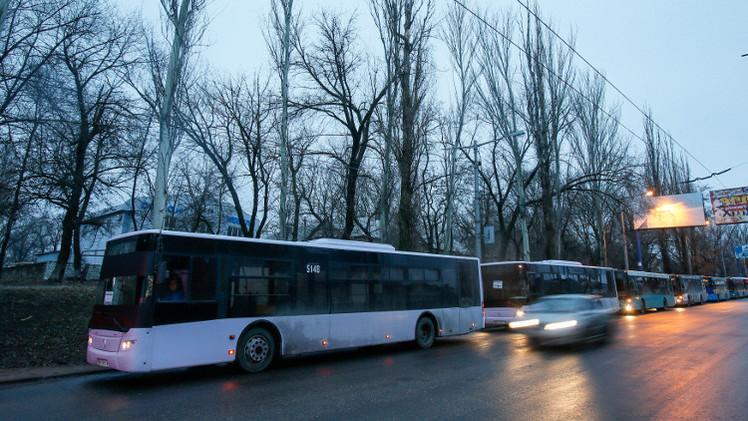 بدء الهدنة في شرق أوكرانيا لإجلاء المدنيين من منطقة ديبالتسيفو