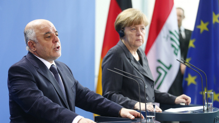 العبادي يحث المجتمع الدولي على دعم العراق في مواجهة