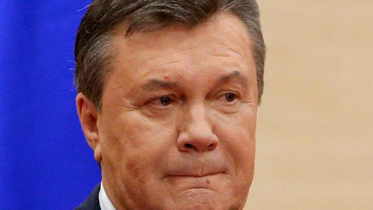 كييف تطالب موسكو بتسليم يانوكوفيتش وغيره من المسؤولين السابقين
