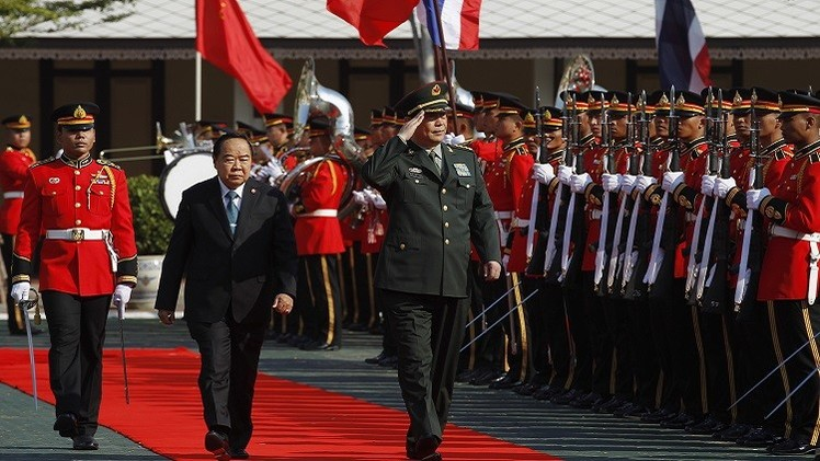 الصين وتايلاند تتفقان على تعزيز التعاون العسكري الثنائي