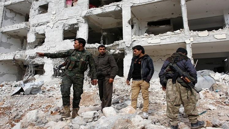 المقاتلون الأكراد يحررون عشرات القرى والبلدات في محيط عين العرب