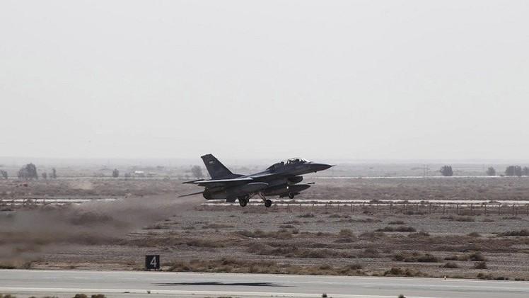 الطائرات الأردنية تنفذ غارات جديدة ضد أهداف