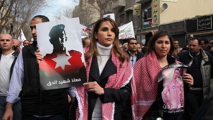 الأردن.. مسيرات حاشدة ضد داعش وجودة يتوعد التنظيم بـ