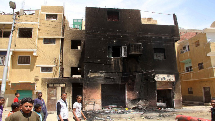 مصرع شخص وإصابة 4 في انفجار قنبلة في مصر
