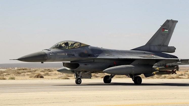 سلاح الجو الاردني يشن غارات جديدة السبت ضد مواقع