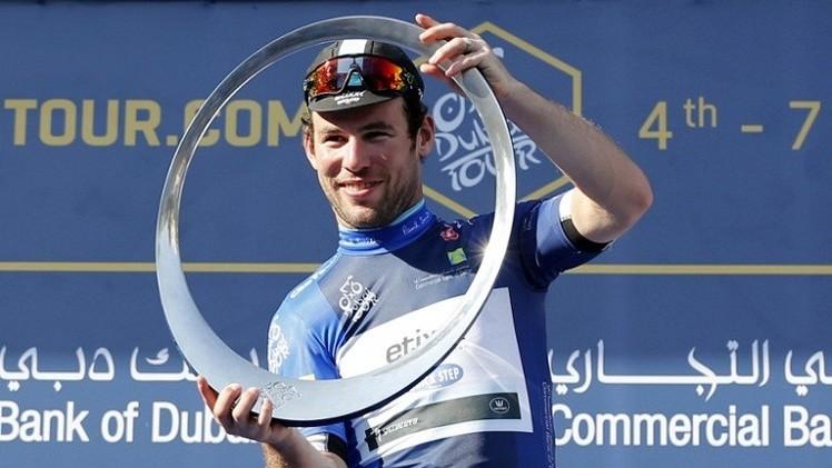 البريطاني كافنديش يتوج بلقب سباق دبي للدراجات