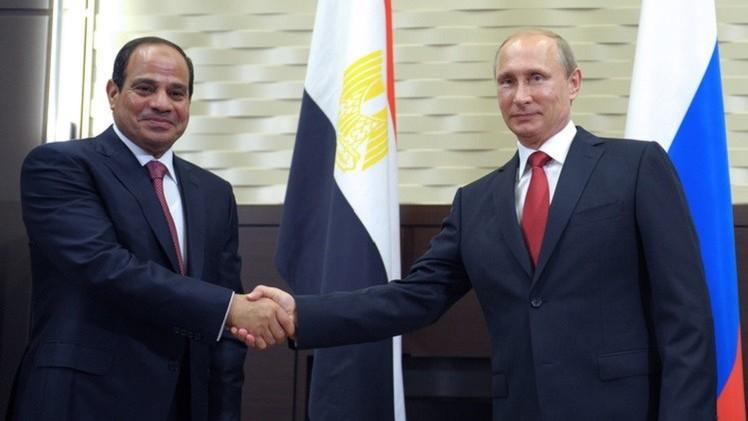 السيسي يشيد بدعم روسيا لمصر