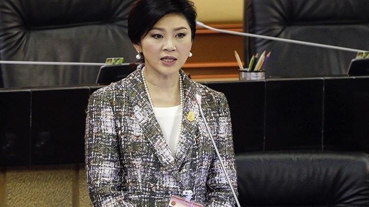 منع رئيسة الوزراء التايلاندية من السفر خارج البلاد